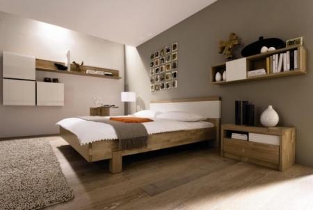 Des astuces faciles et pas ch res pour relooker sa chambre d co de maison - Chambre grise et blanc ...