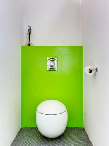 Quelle peinture pour les wc d co de maison for Peinture toilettes zen